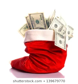 christmas-hat-full-100-dollar-260nw-139679770
